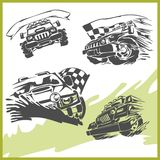 4x4 Off-Road Symbol. Vector Illusration .Vinyl-Ready Royalty Free Illustration