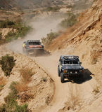 4x4 Off Road Truck Race. In Baja California, Mexico Stock Photos