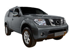 4x4 suv isolated Stock Images