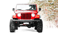 4X4, truck, jeep Stock Images
