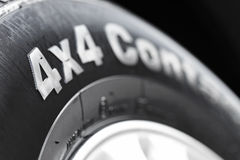 4x4 tyre Stock Images