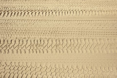 4x4 tyre tracks Stock Images