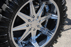 4x4 Wheel & Tire Royalty Free Stock Image