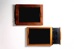 4x5 film holders Royalty Free Stock Photo