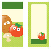 4x9 Two Sided Rack Card. (includes crop marks, bleeds stock illustration