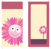 4x9 Two Sided Rack Card. (includes crop marks, bleed vector illustration