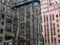 5ème Avenue. réflexion Images stock