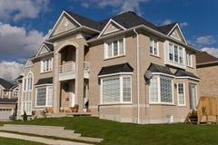 5专用的房子 免版税库存照片