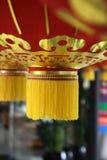 5个中国灯笼 免版税库存照片