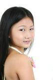 5个亚洲人儿童年轻人 免版税图库摄影