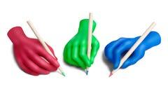 5个协议颜色 免版税库存图片