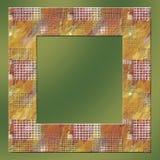 5个叶子系列瓦片 库存图片
