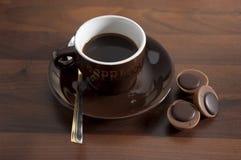 5个咖啡杯 免版税图库摄影