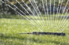 5个喷水隆头水 库存图片