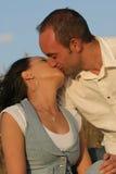 5个夫妇年轻人 库存图片