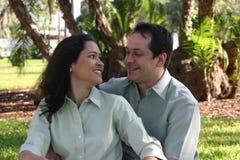 5个夫妇愉快的系列 免版税库存照片