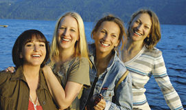 5个女孩 库存图片