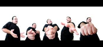 5个姿势您 免版税图库摄影