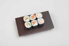 5个寿司 免版税库存图片