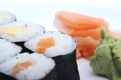 5个寿司 免版税库存照片
