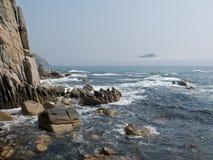5个岩石海运 免版税库存图片