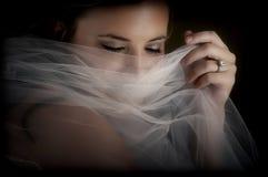 5个新娘午夜 库存图片