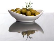 5个橄榄 库存图片