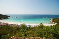 5个海岛ko lan pattaya 库存图片