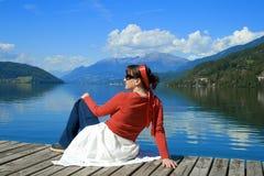 5个湖rossa 免版税库存照片