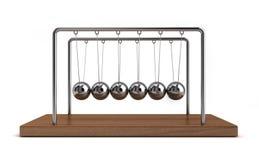 5个球冲突 库存例证