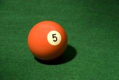 5个球池 免版税库存照片