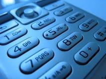 5个电池填充电话 免版税库存图片