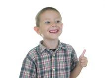 5个男孩嘴唇红色 图库摄影