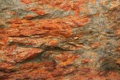 5个红色岩石 图库摄影