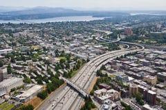 5个编号途径西雅图 免版税库存图片