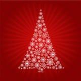 5个背景圣诞节 库存例证
