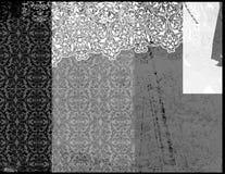 5个背景grunge 免版税图库摄影