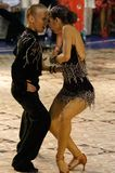 5个舞蹈拉丁 库存图片