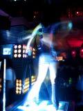 5个舞蹈演员晚上 免版税库存照片