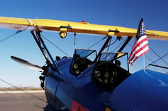 5个航空器古董 库存图片