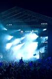 5个音乐会岩石 免版税图库摄影