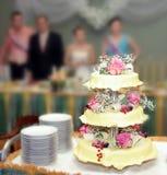 5个饼婚礼 库存照片