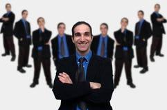5企业小组 免版税库存照片