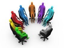 5会议 免版税库存图片