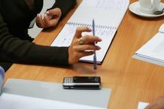 5位研讨会学员 免版税库存照片