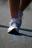 5位马拉松运动员 免版税库存照片