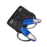 5双袋子鞋子 库存图片