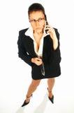 5名企业性感的妇女 图库摄影