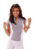 5名妇女锻炼 免版税库存照片