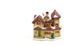 5圣诞节装饰房子 库存图片